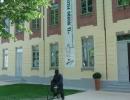 Una veduta esterna del museo