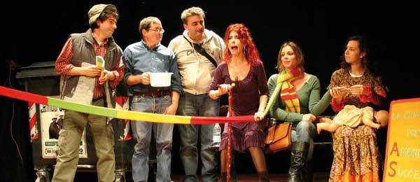 Una rappresentazione di teatro tradizionale