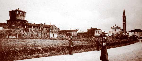 Roccabianca nel 1910